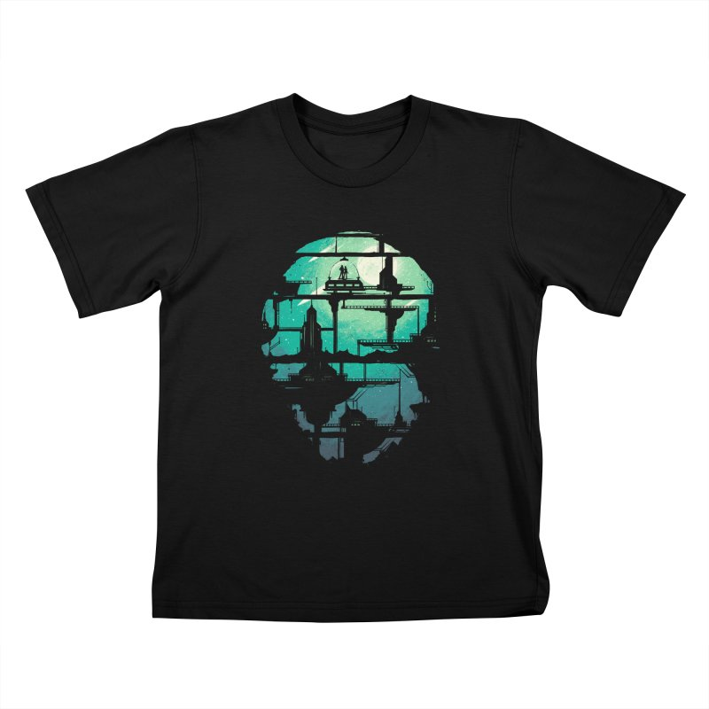 Future Shock Kids T-shirt by Robson Borges