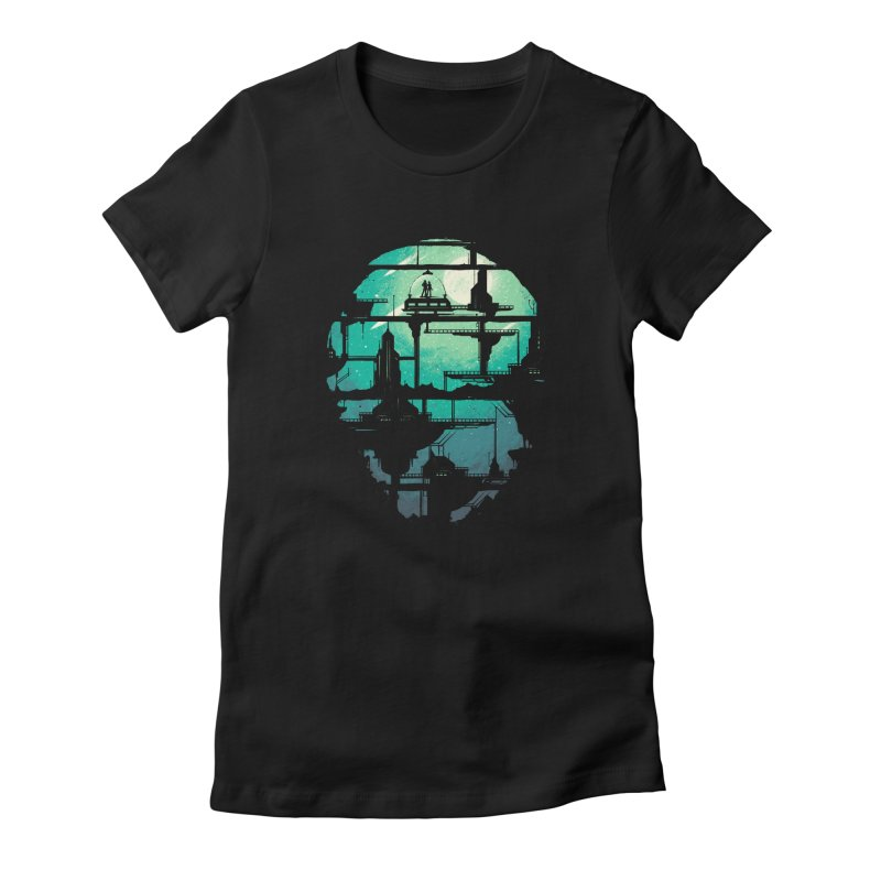 Future Shock Women's Fitted T-Shirt by