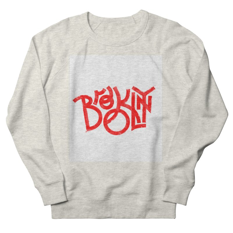 Brooklyn Women's Sweatshirt by The Typography Shop of Andrei Robu
