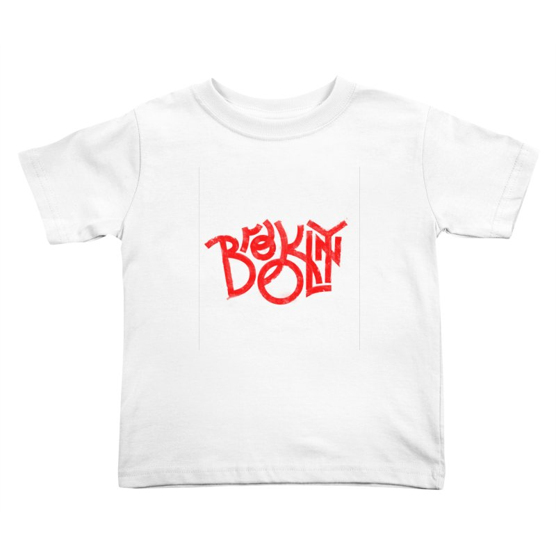 Brooklyn Kids Toddler T-Shirt by The Typography Shop of Andrei Robu