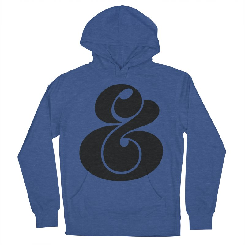 Robu Ampersand Women's Pullover Hoody by The Typography Shop of Andrei Robu