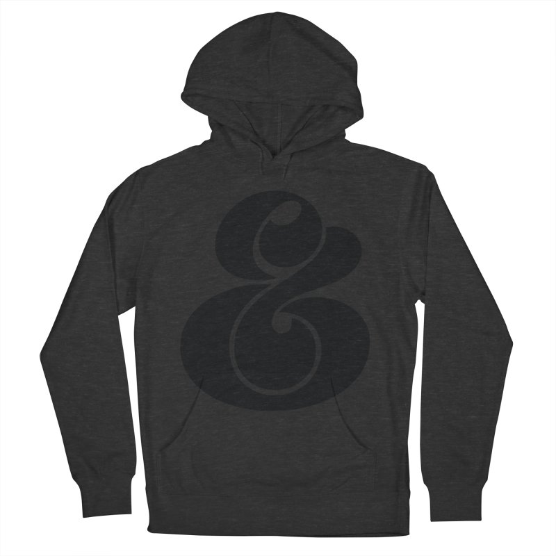Robu Ampersand Men's Pullover Hoody by The Typography Shop of Andrei Robu