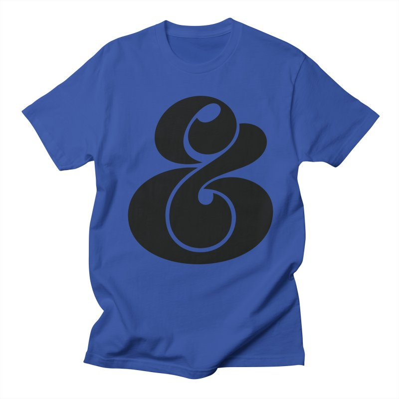 Robu Ampersand Men's T-Shirt by The Typography Shop of Andrei Robu
