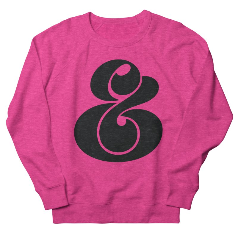 Robu Ampersand Women's Sweatshirt by The Typography Shop of Andrei Robu
