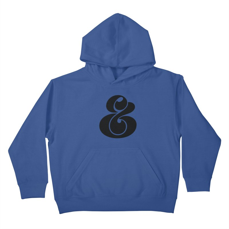 Robu Ampersand Kids Pullover Hoody by The Typography Shop of Andrei Robu