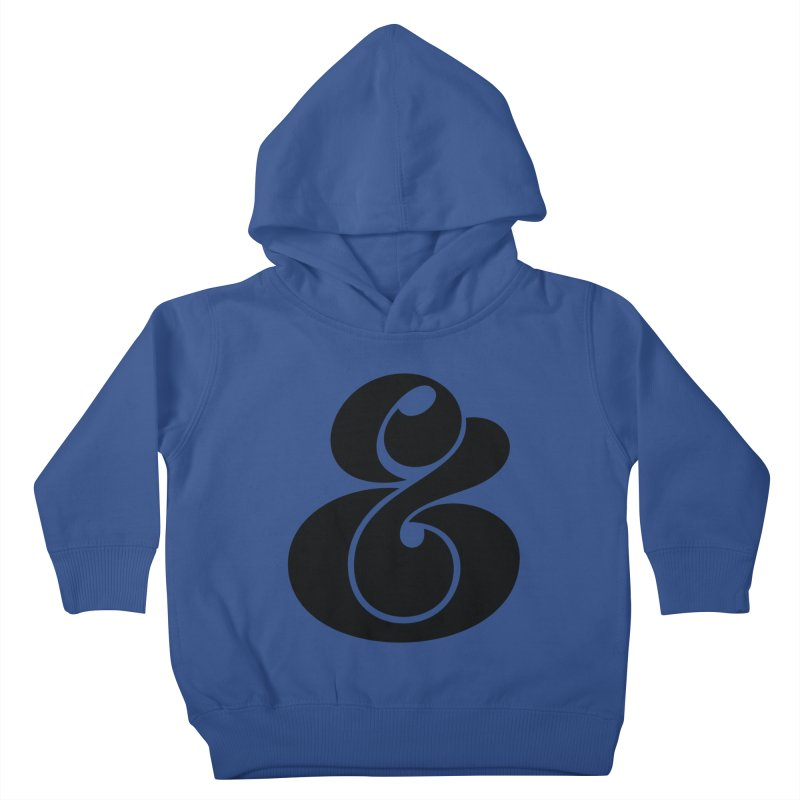 Robu Ampersand Kids Toddler Pullover Hoody by The Typography Shop of Andrei Robu