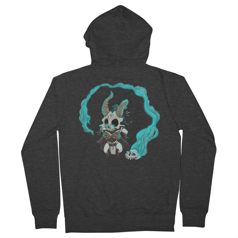 Mini Kier Men's French Terry Zip-Up Hoody by roby's Artist Shop