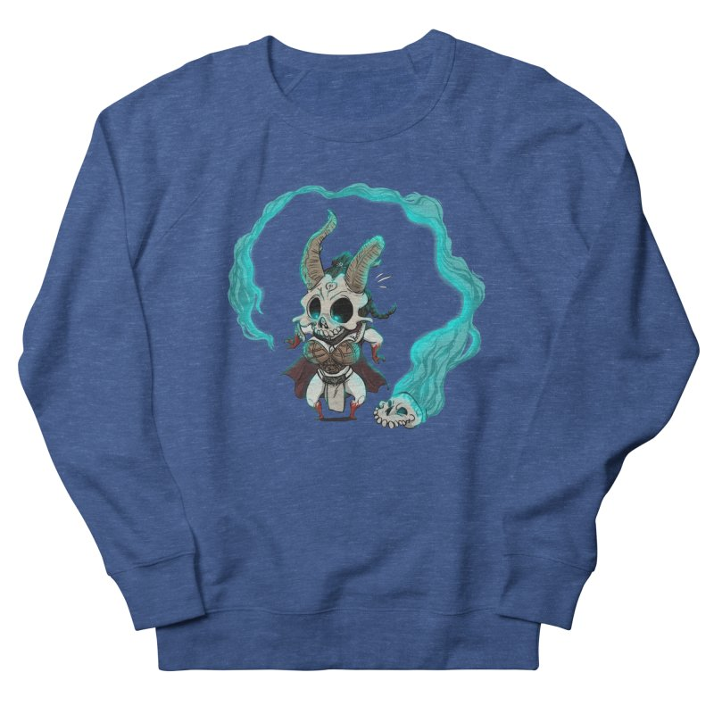 Mini Kier Women's French Terry Sweatshirt by roby's Artist Shop