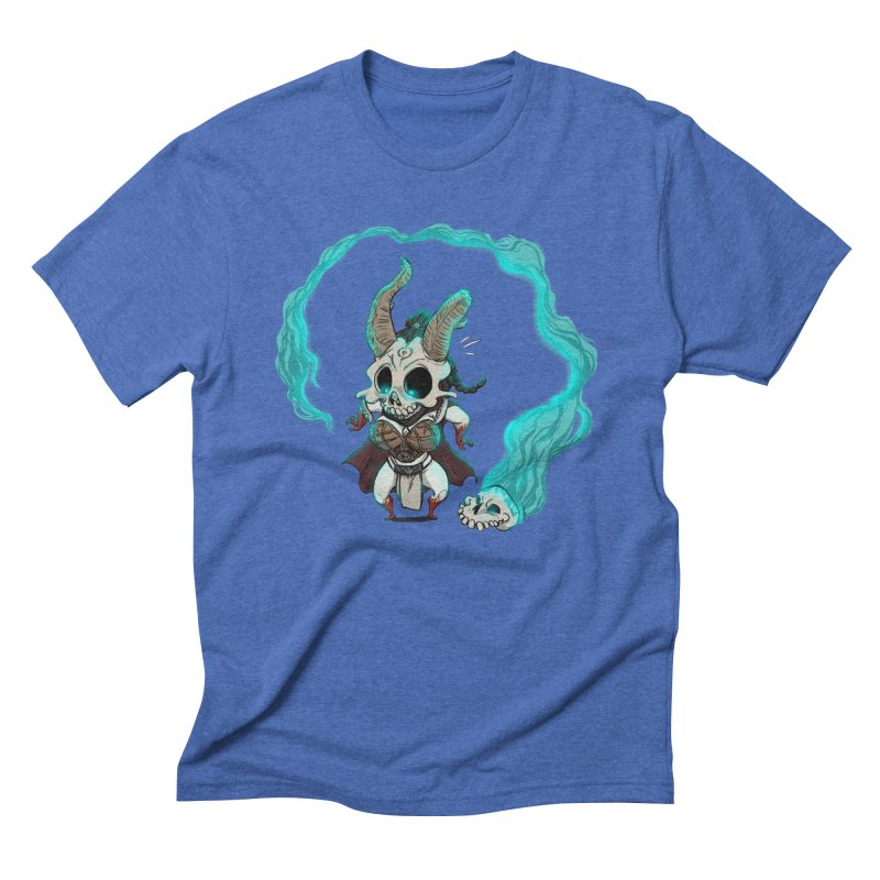 Mini Kier Men's Triblend T-Shirt by roby's Artist Shop