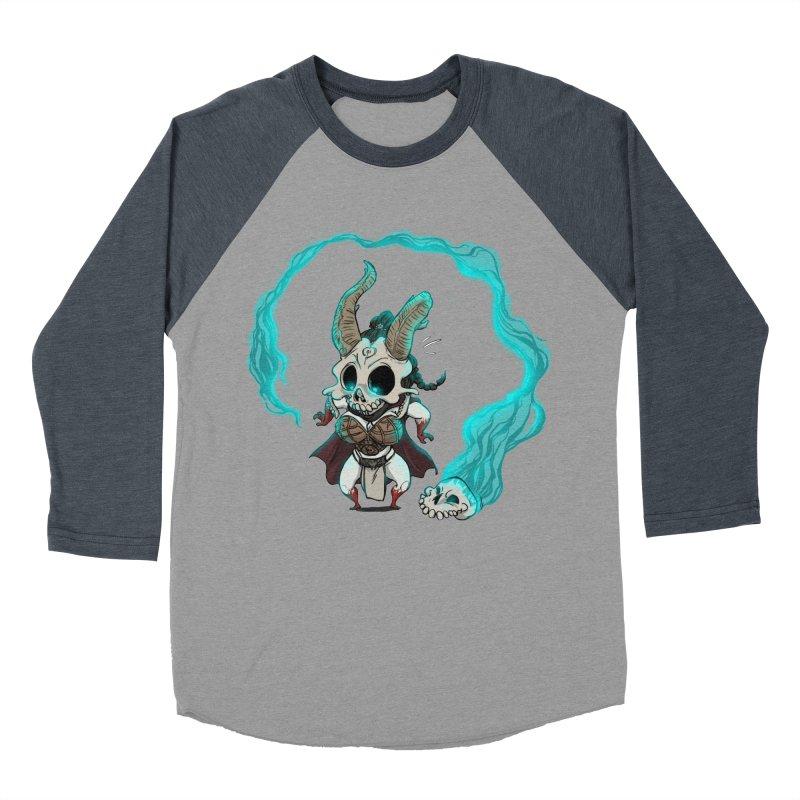 Mini Kier Men's Baseball Triblend T-Shirt by roby's Artist Shop