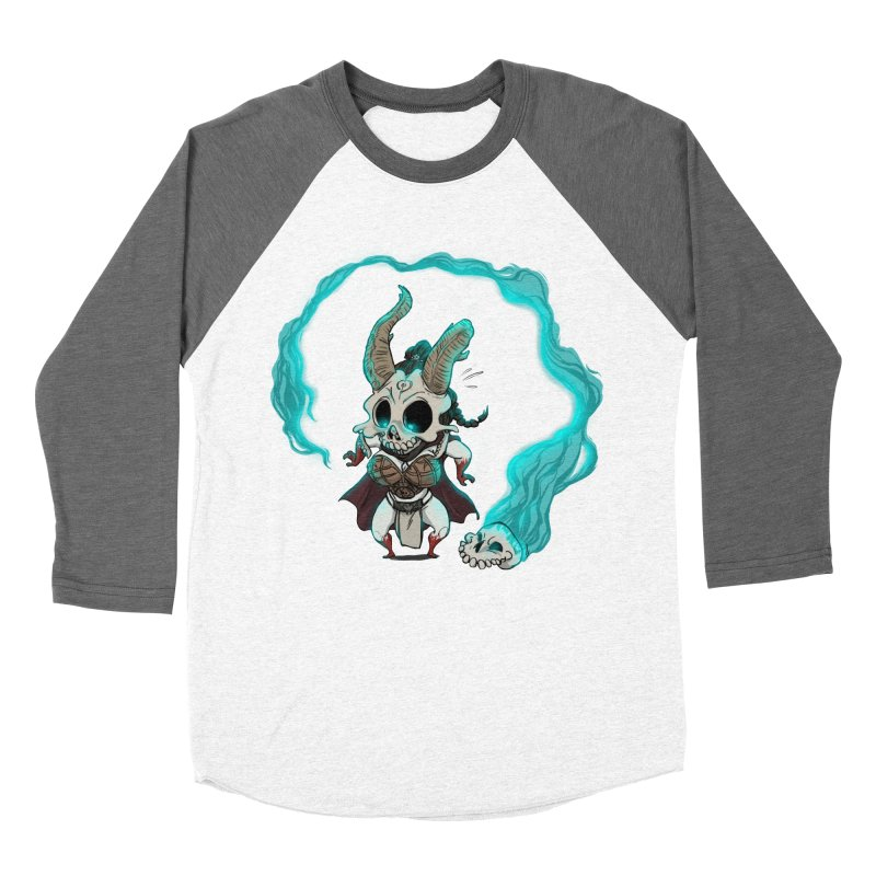 Mini Kier Men's Baseball Triblend Longsleeve T-Shirt by roby's Artist Shop