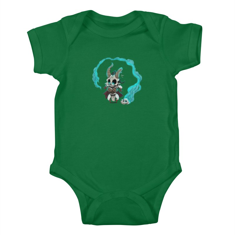 Mini Kier Kids Baby Bodysuit by roby's Artist Shop