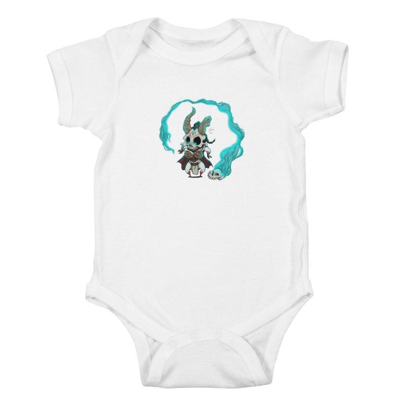 Mini Kier Kids Baby Bodysuit by roby's Artist Shop