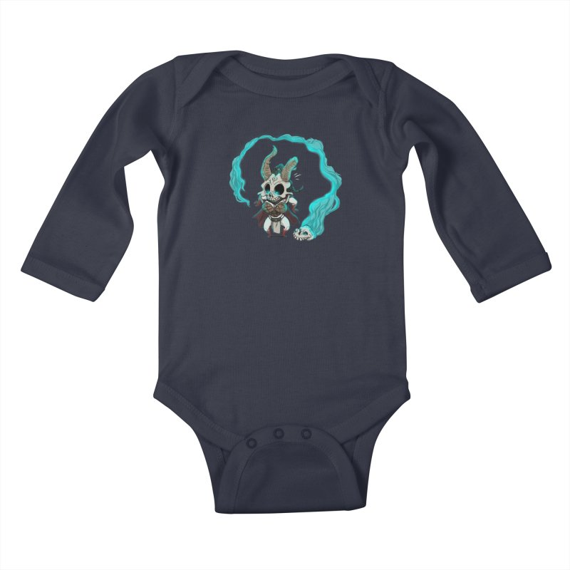 Mini Kier Kids Baby Longsleeve Bodysuit by roby's Artist Shop