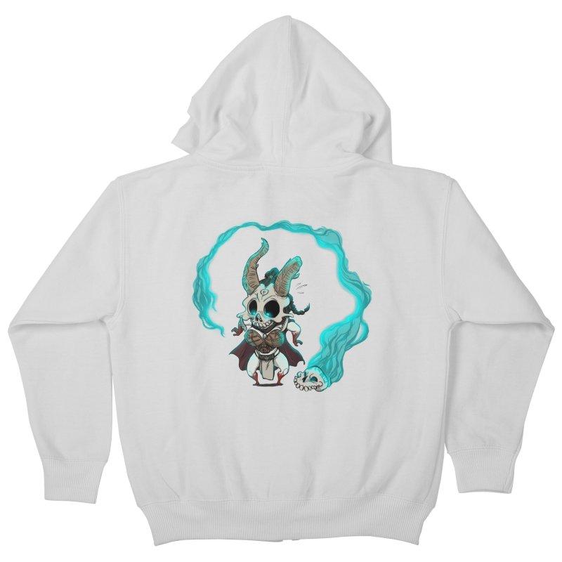 Mini Kier Kids Zip-Up Hoody by roby's Artist Shop