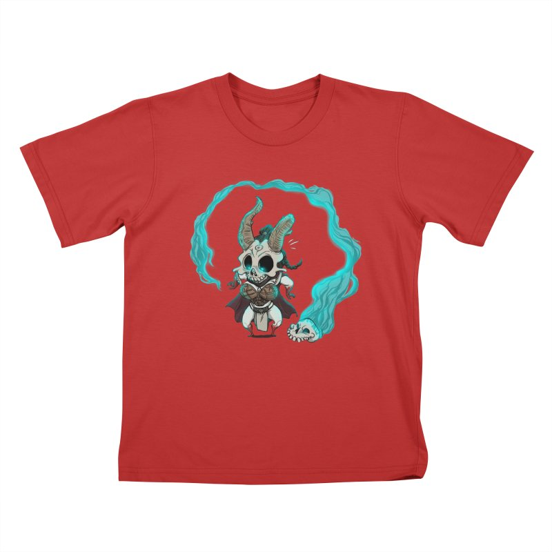 Mini Kier Kids T-Shirt by roby's Artist Shop