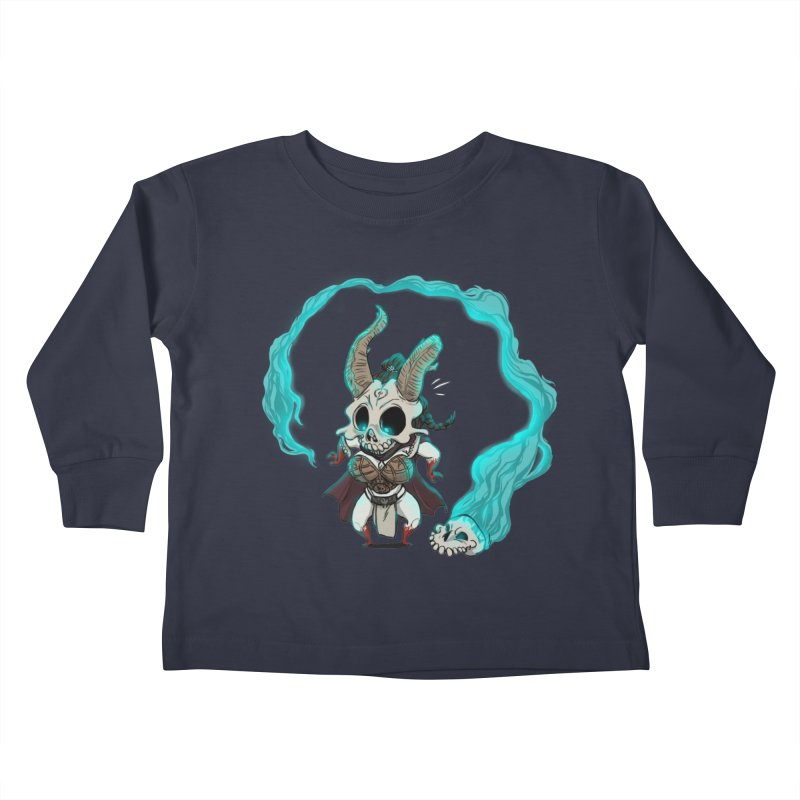 Mini Kier Kids Toddler Longsleeve T-Shirt by roby's Artist Shop