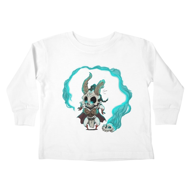 Mini Kier Kids Toddler Longsleeve T-Shirt by roby's Artist Shop
