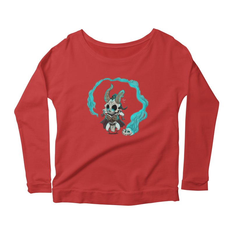 Mini Kier Women's Longsleeve Scoopneck  by roby's Artist Shop