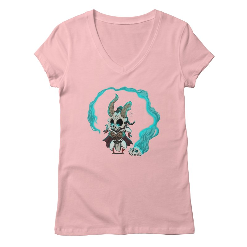 Mini Kier Women's V-Neck by roby's Artist Shop