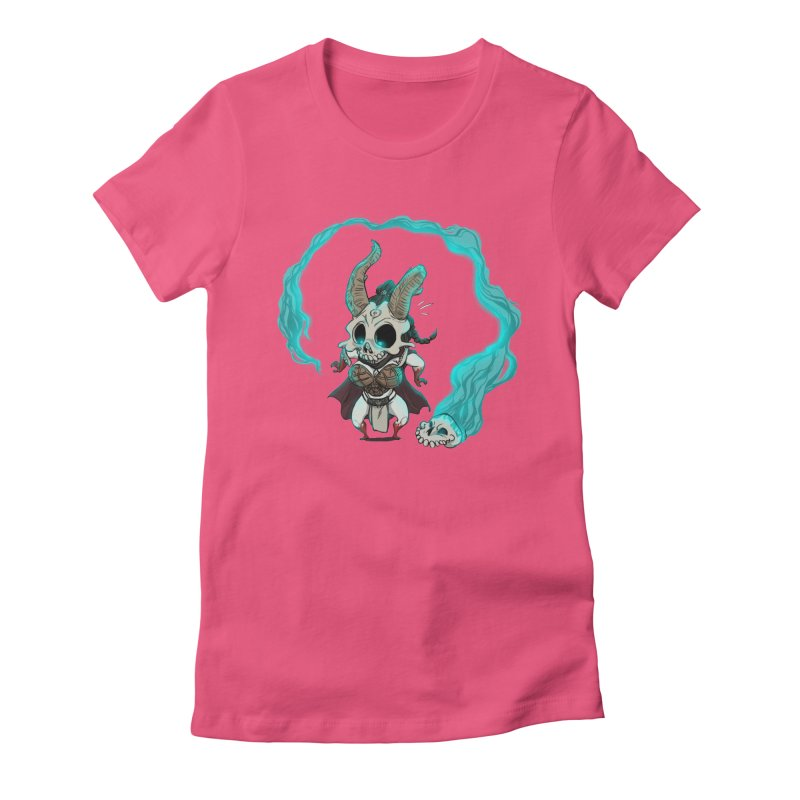 Mini Kier Women's Fitted T-Shirt by roby's Artist Shop
