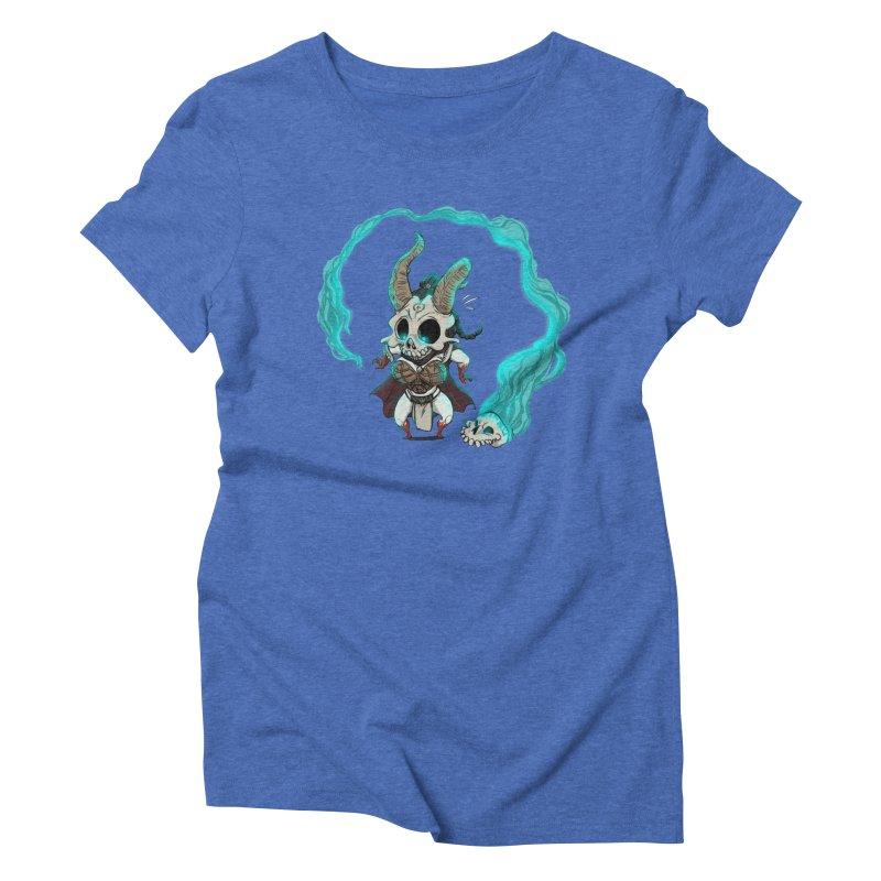 Mini Kier Women's Triblend T-Shirt by roby's Artist Shop