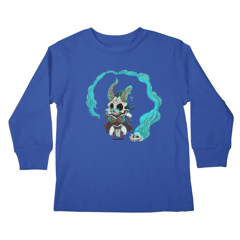 Mini Kier Kids Longsleeve T-Shirt by roby's Artist Shop