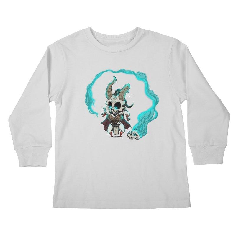 Mini Kier Kids Longsleeve T-Shirt by roby's Artist Shop