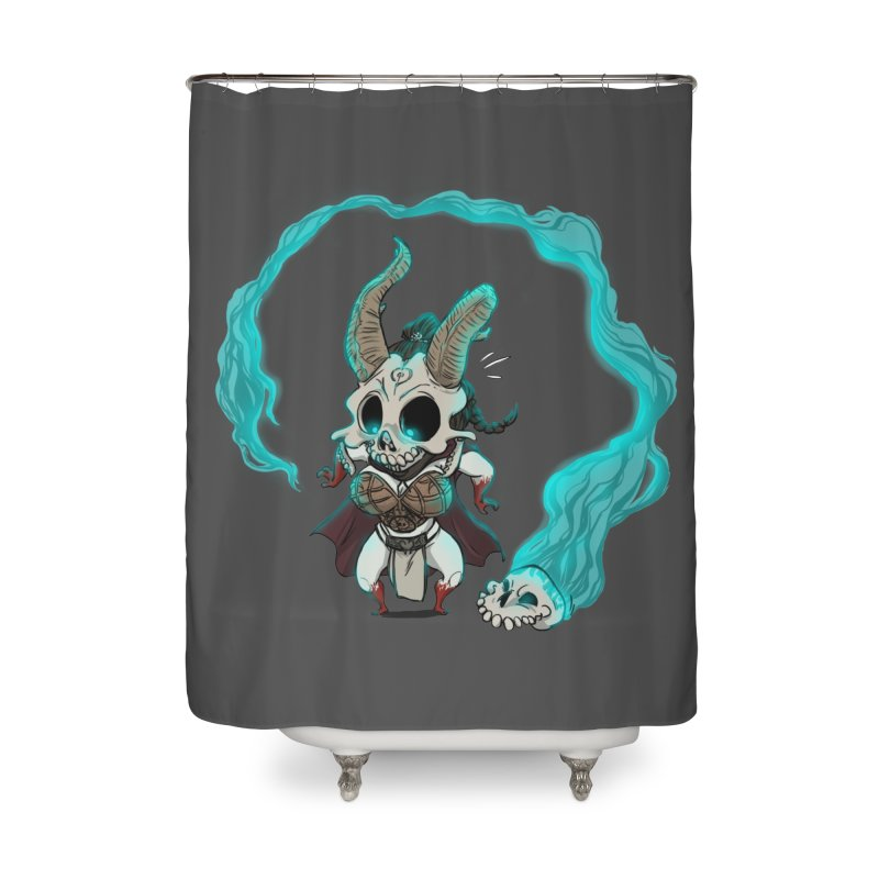 Mini Kier Home Shower Curtain by roby's Artist Shop