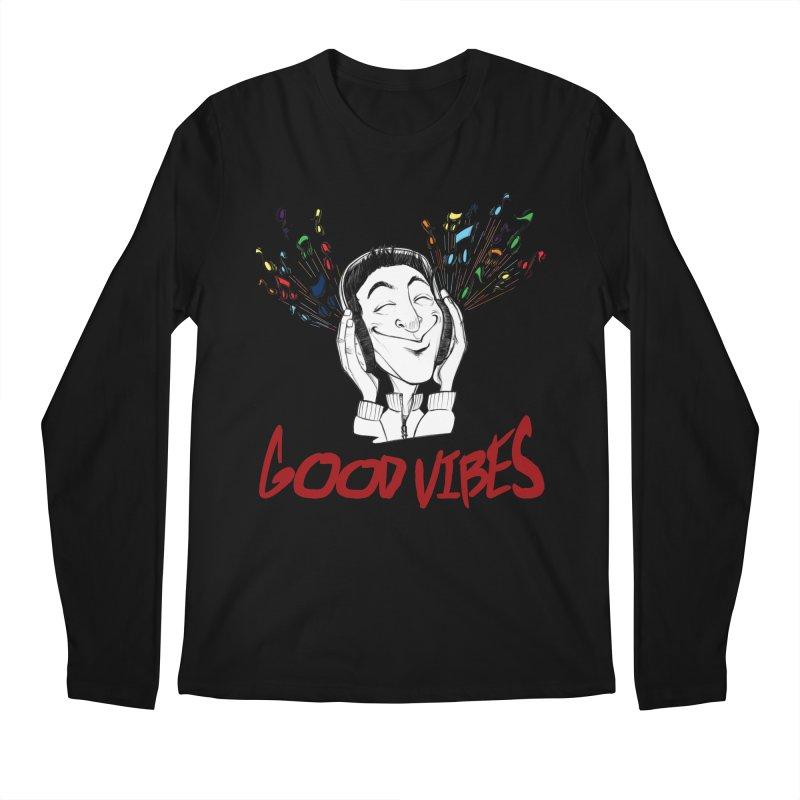 GoodVibes Man Men's Longsleeve T-Shirt by roby's Artist Shop
