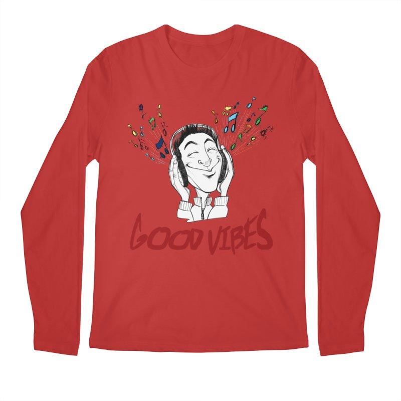 GoodVibes Man Men's Regular Longsleeve T-Shirt by roby's Artist Shop