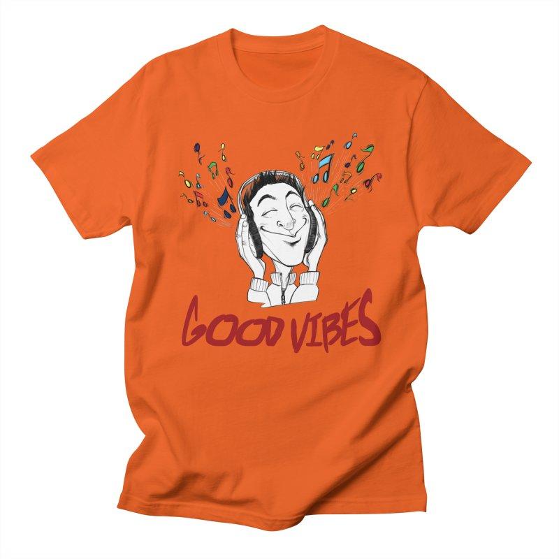 GoodVibes Man Men's Regular T-Shirt by roby's Artist Shop