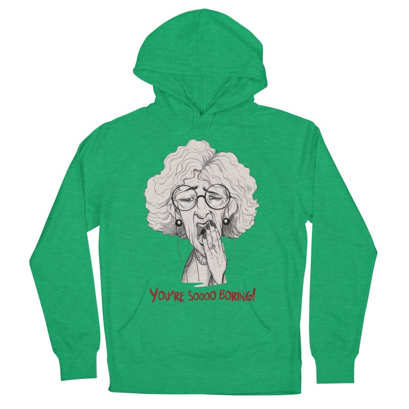 BoredWoman! Men's Pullover Hoody by roby's Artist Shop