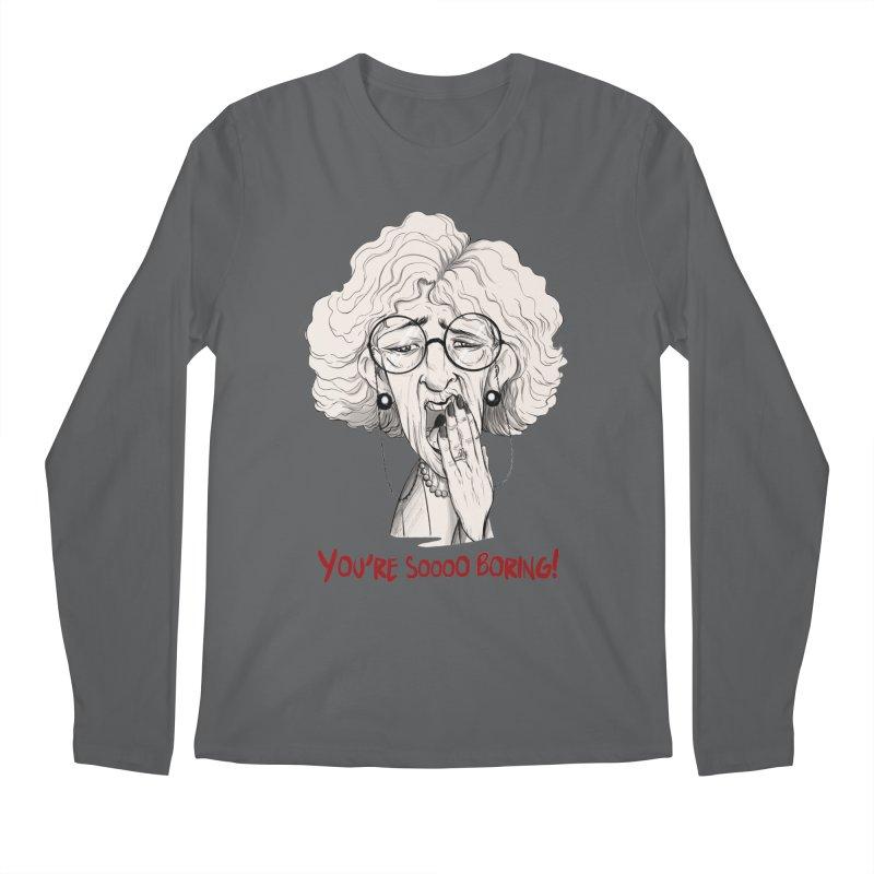 BoredWoman! Men's Regular Longsleeve T-Shirt by roby's Artist Shop