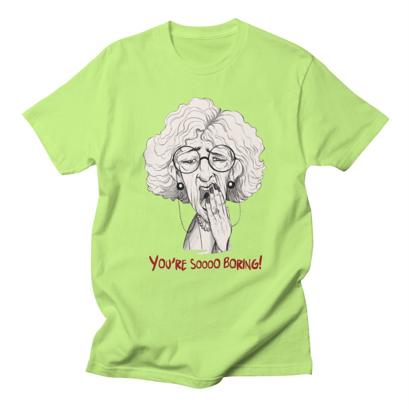 BoredWoman! Men's T-Shirt by roby's Artist Shop