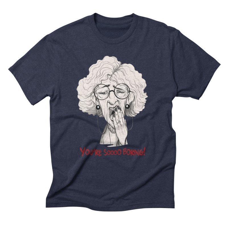BoredWoman! Men's Triblend T-Shirt by roby's Artist Shop
