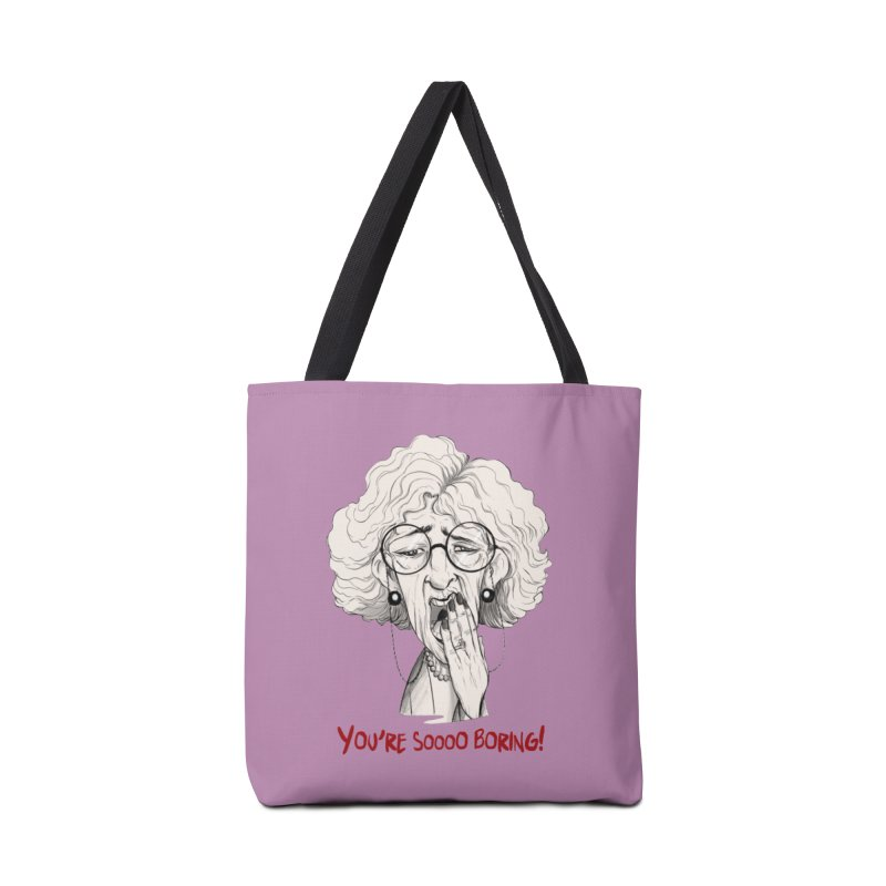 BoredWoman! Accessories Tote Bag Bag by roby's Artist Shop