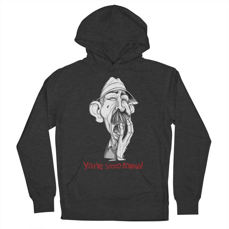 Bored Man Men's Pullover Hoody by roby's Artist Shop