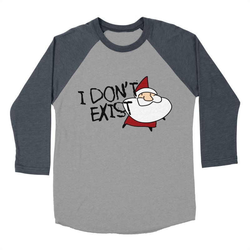 I Don't Exist Men's Baseball Triblend Longsleeve T-Shirt by roby's Artist Shop