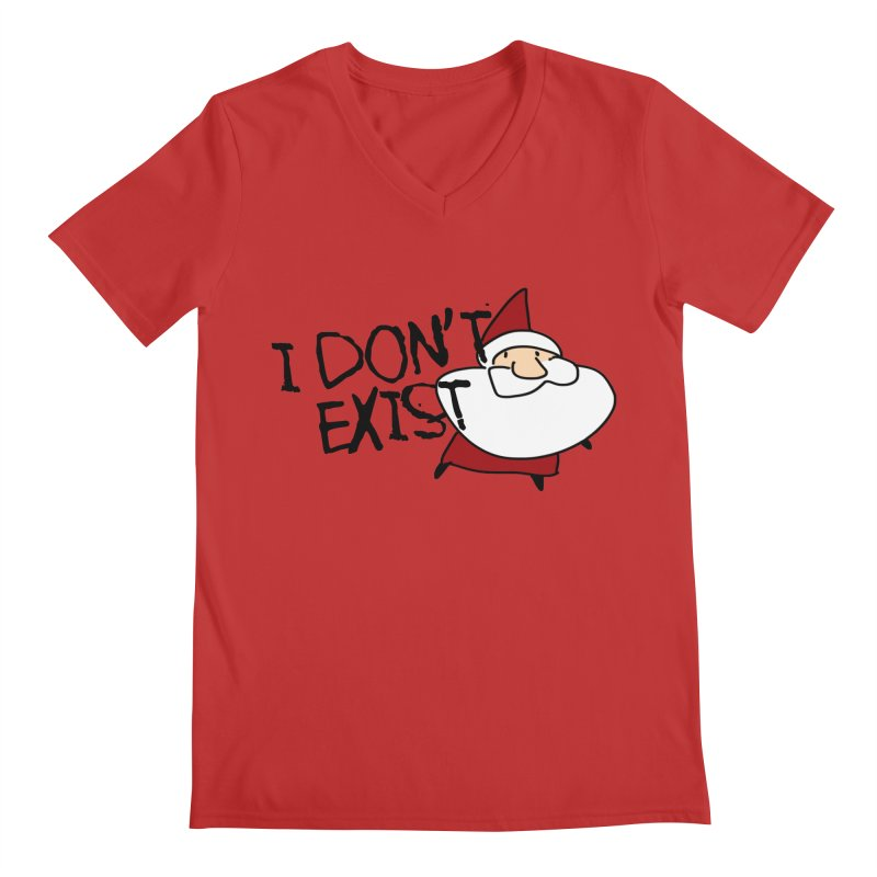 I Don't Exist Men's V-Neck by roby's Artist Shop