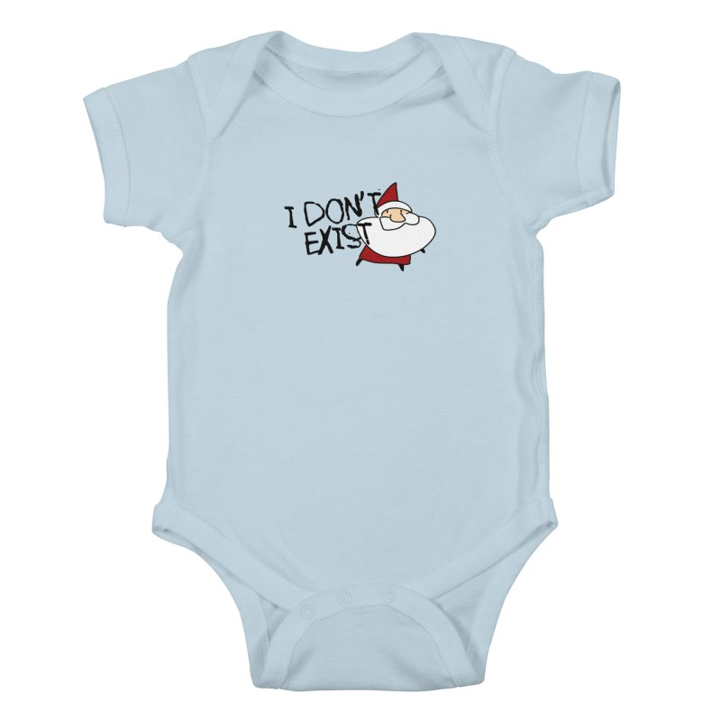 I Don't Exist Kids Baby Bodysuit by roby's Artist Shop