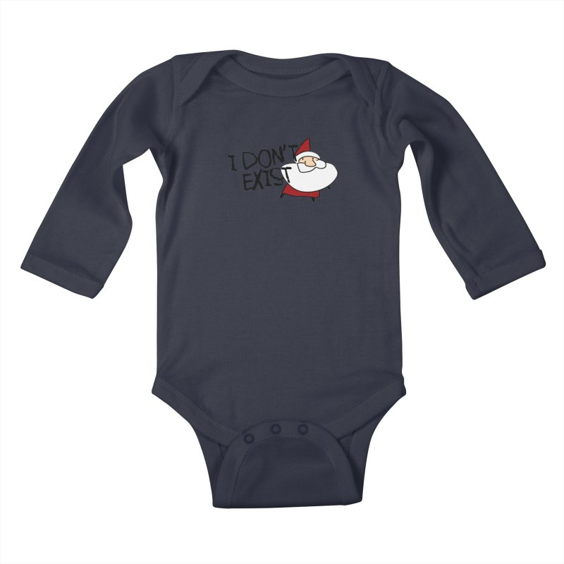 I Don't Exist Kids Baby Longsleeve Bodysuit by roby's Artist Shop
