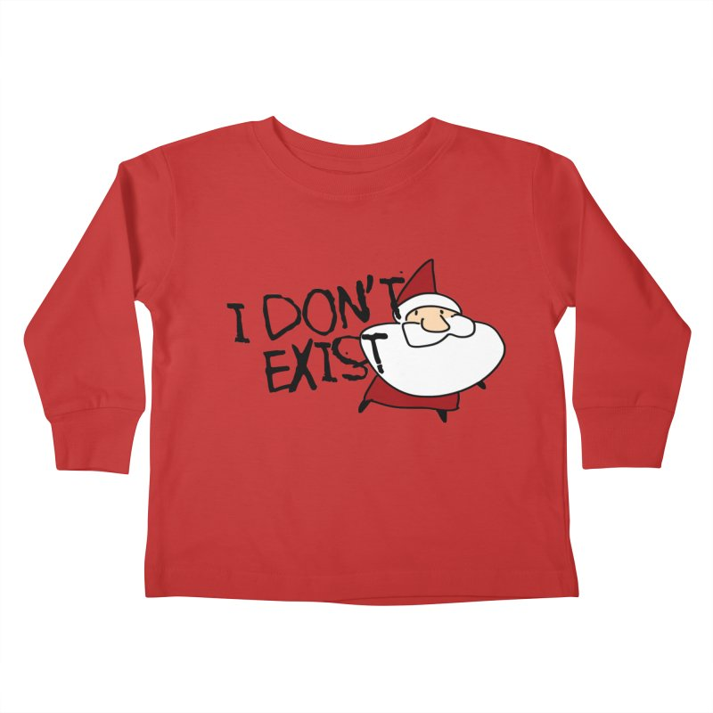 I Don't Exist Kids Toddler Longsleeve T-Shirt by roby's Artist Shop