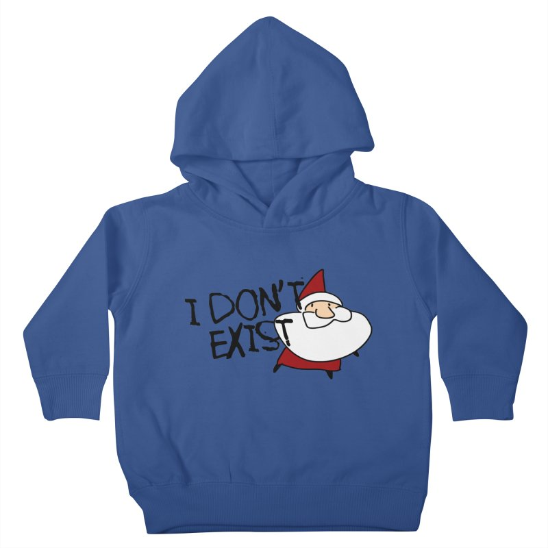 I Don't Exist Kids Toddler Pullover Hoody by roby's Artist Shop