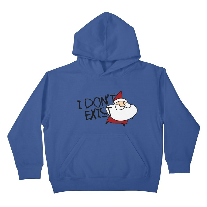 I Don't Exist Kids Pullover Hoody by roby's Artist Shop