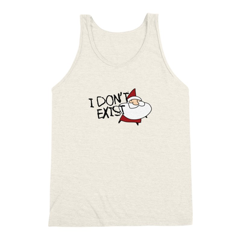 I Don't Exist Men's Triblend Tank by roby's Artist Shop