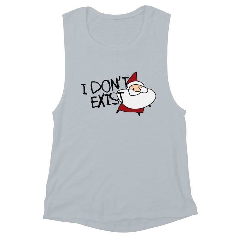 I Don't Exist Women's Muscle Tank by roby's Artist Shop