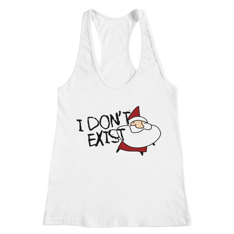 I Don't Exist Women's Racerback Tank by roby's Artist Shop