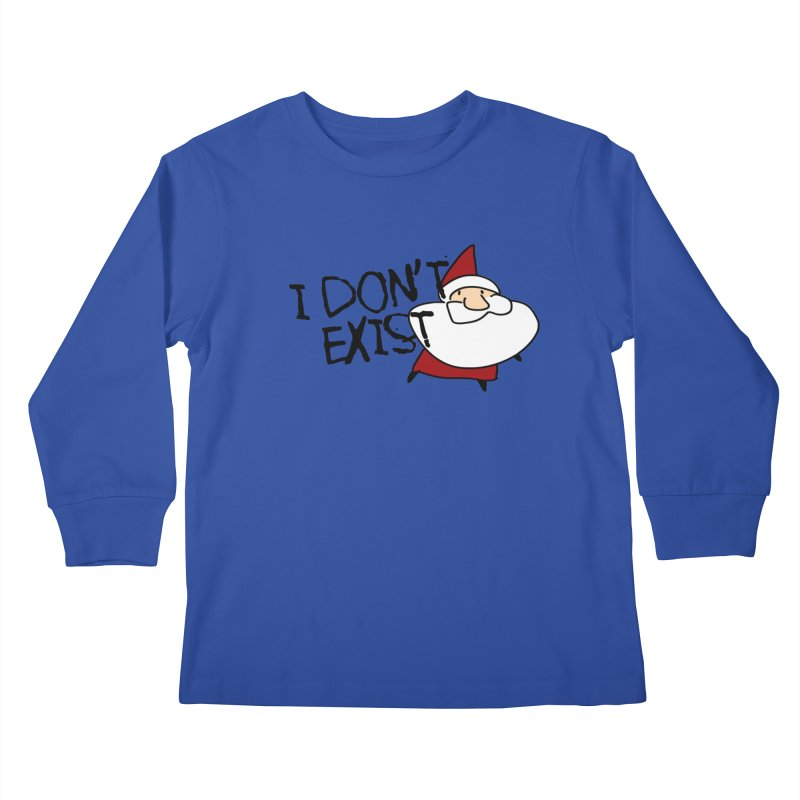 I Don't Exist Kids Longsleeve T-Shirt by roby's Artist Shop