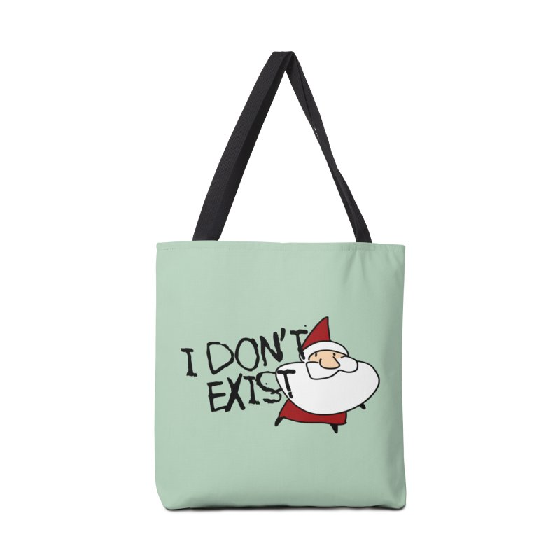 I Don't Exist Accessories Bag by roby's Artist Shop